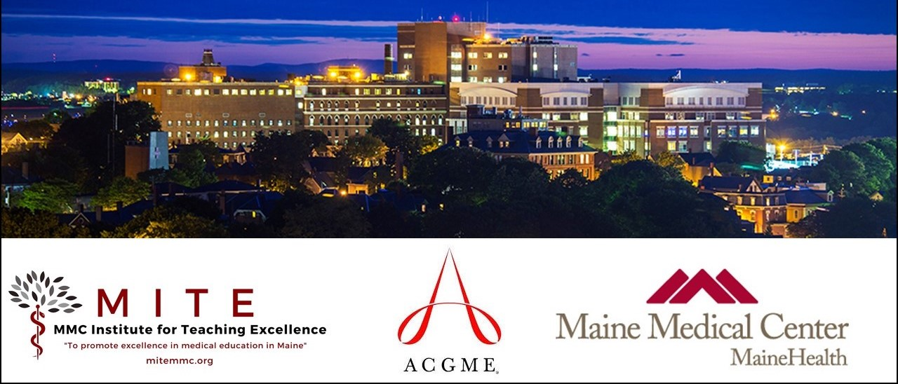 2020 ACGME Hub-MMC Improving Faculty Competence in Assessment & Evaluation Banner